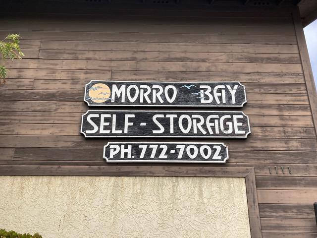 self storage in morro bay, ca