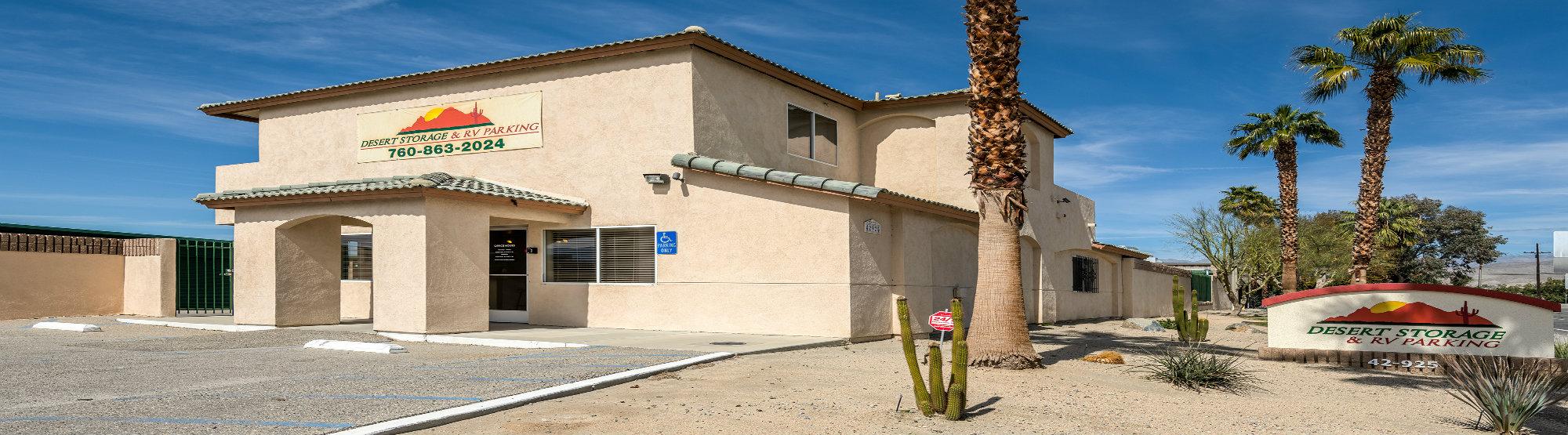 Desert Storage Entrance Indio, CA