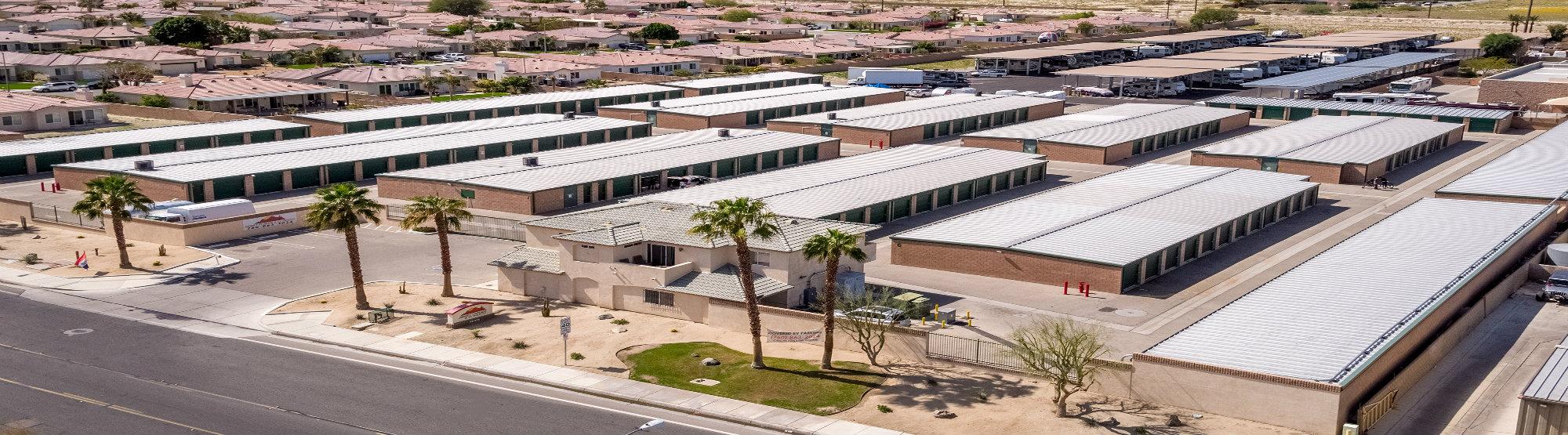 Desert Storage RV Parking Indio, CA