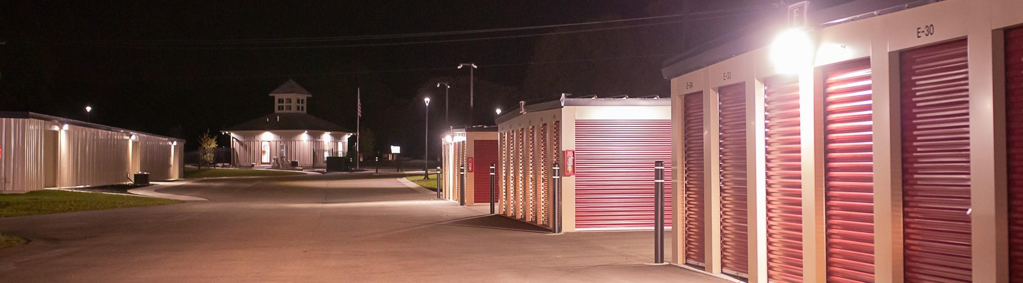 Weathervane Self Storage outdoor storage