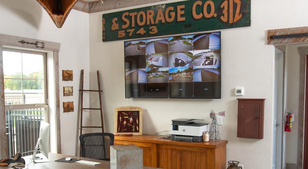 Weathervane Self Storage office