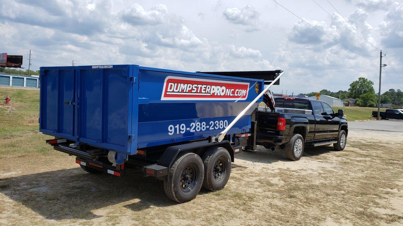 Mobile Dumpster Delivery