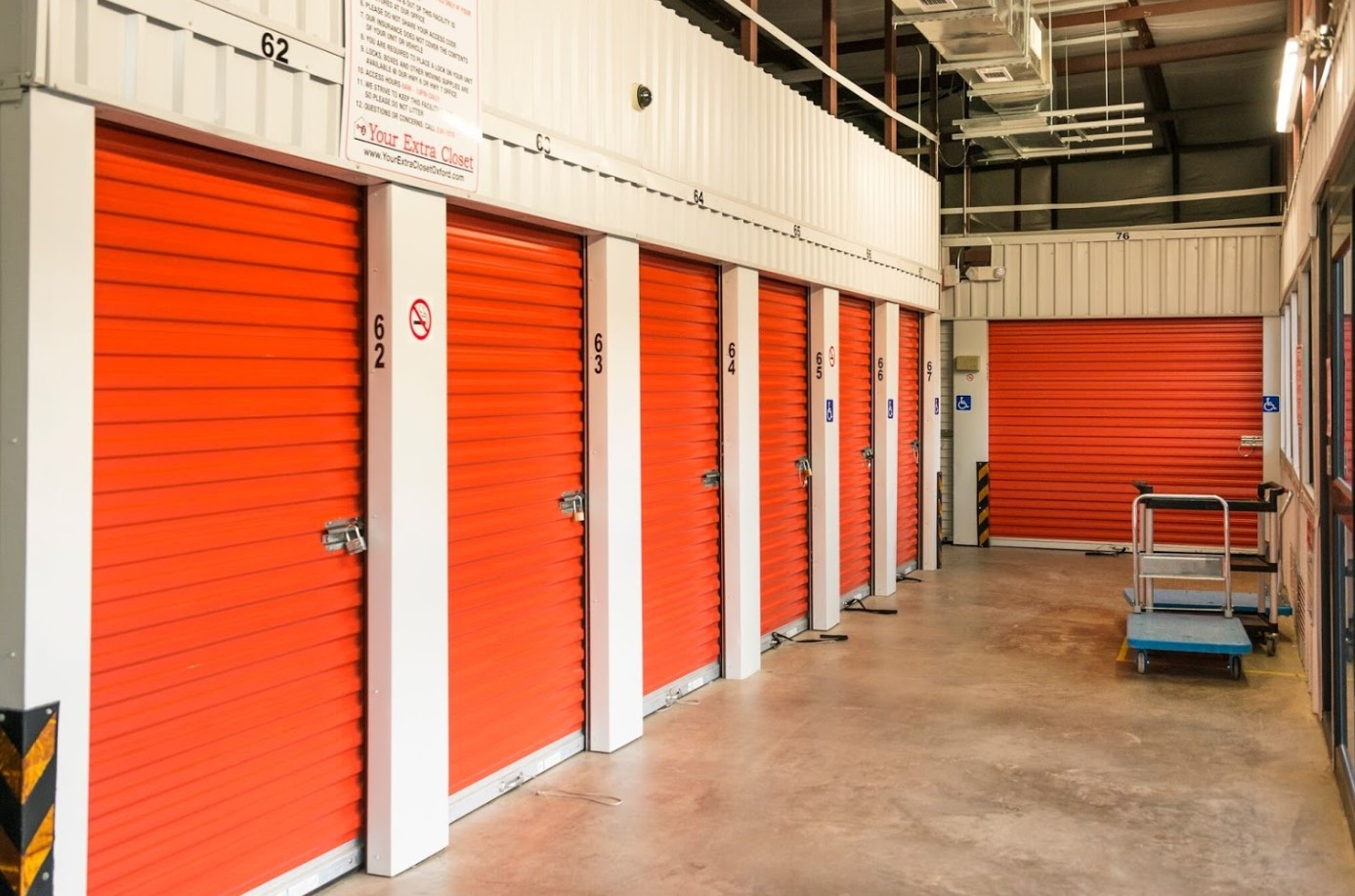 Large Self Storage Units in Oxford MS