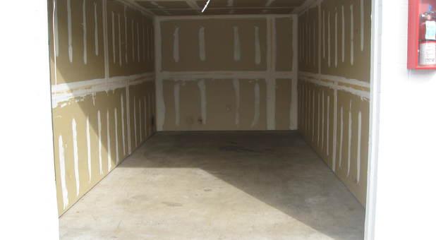Inside Storage Unit in Albuquerque, NM