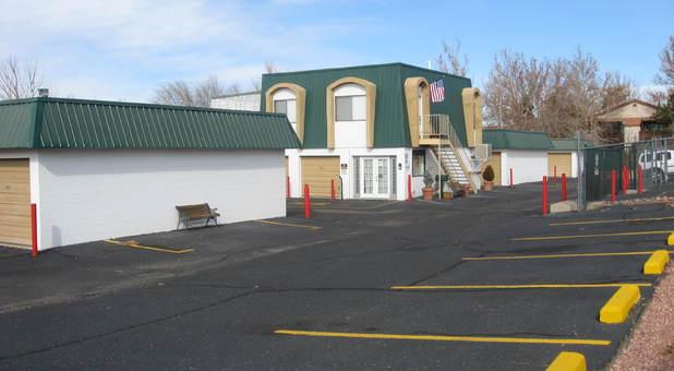 Self Storage Parking Lot Albuquerque, NM