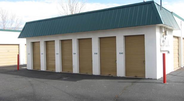 Row of Storage Units Albuquerque, NM