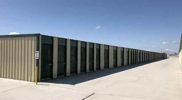 Self storage units at Storland Self Storage
