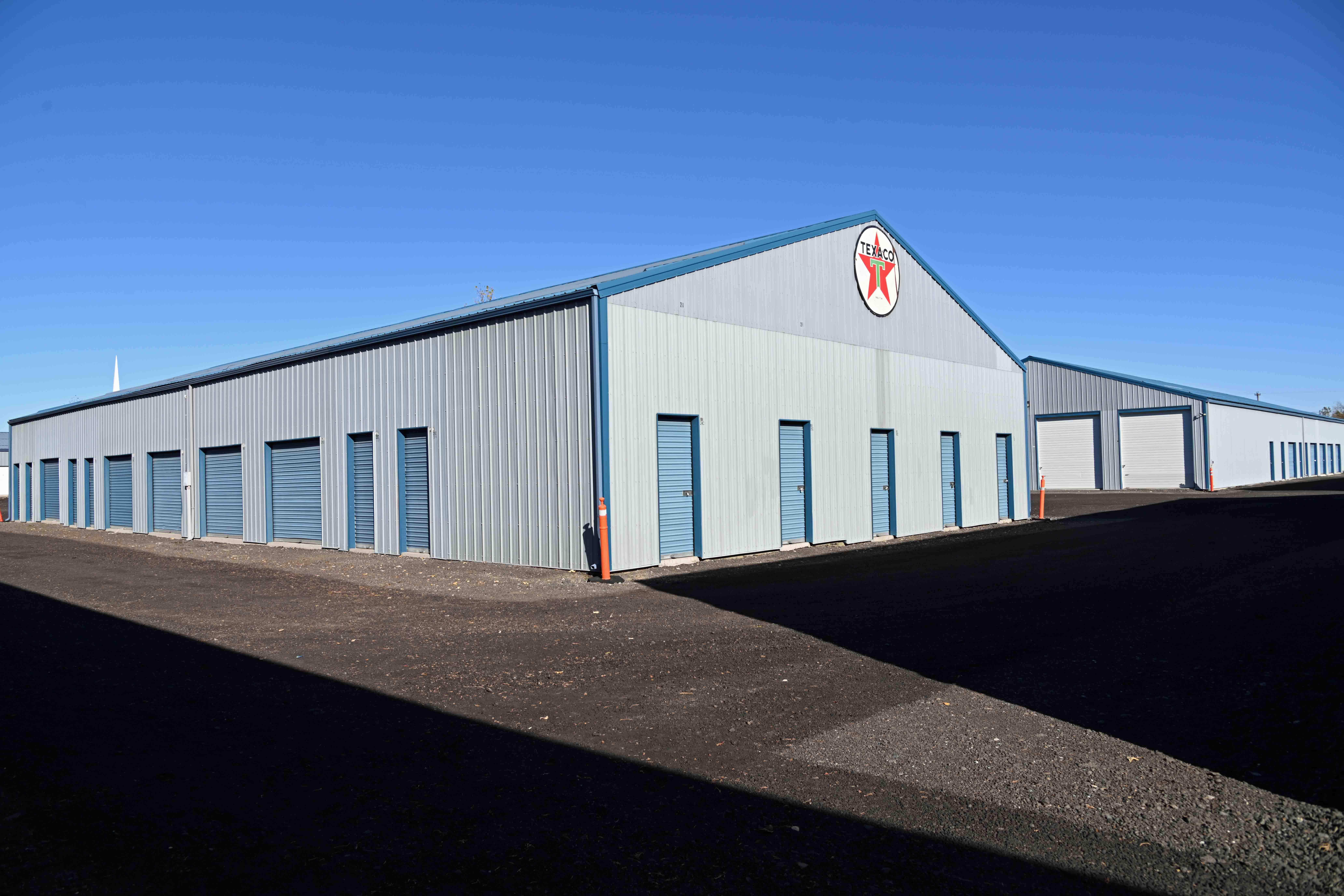 Monark Mini Warehouse outdoor units