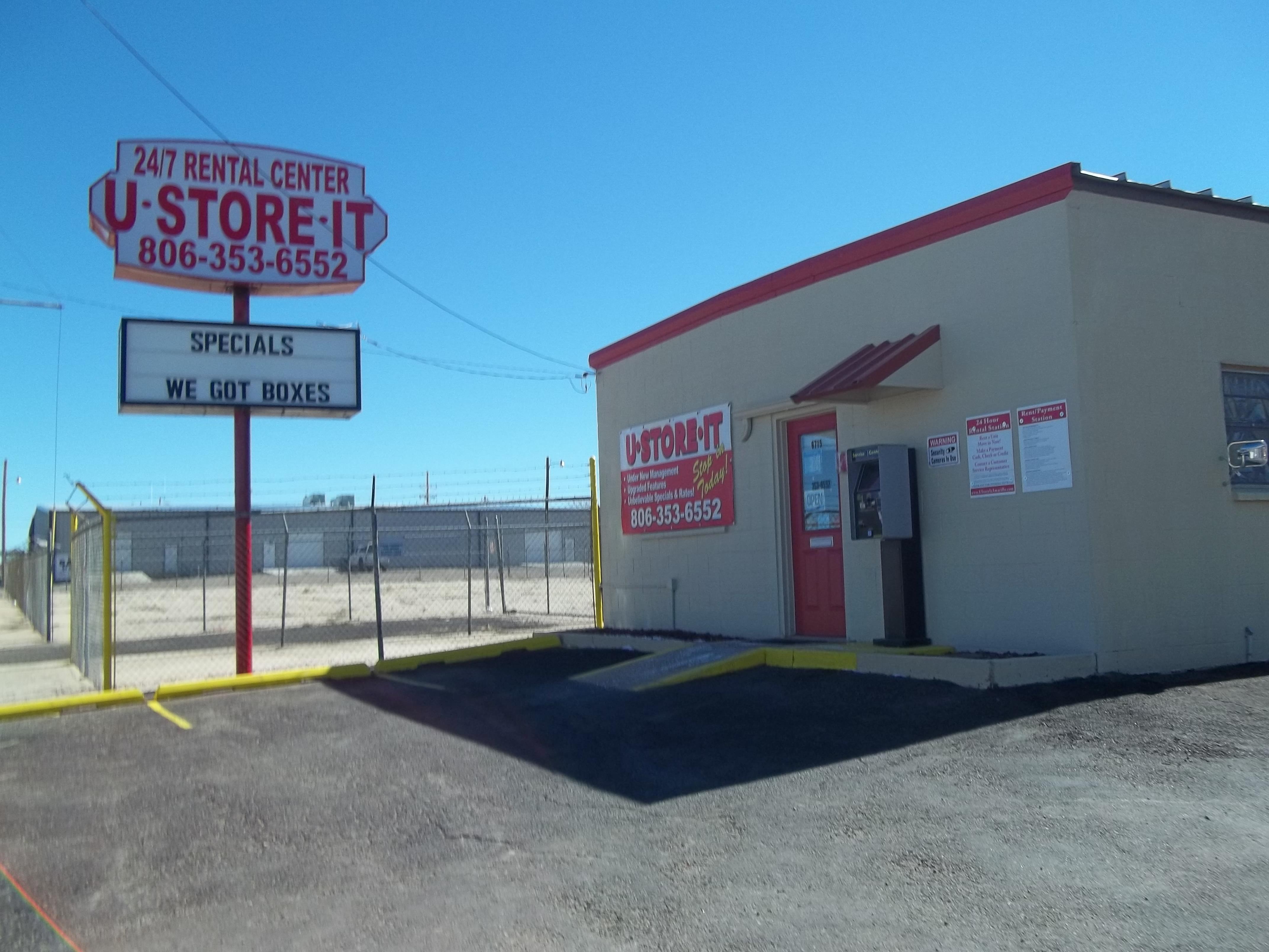 U-Store-It Amarillo, TX Office