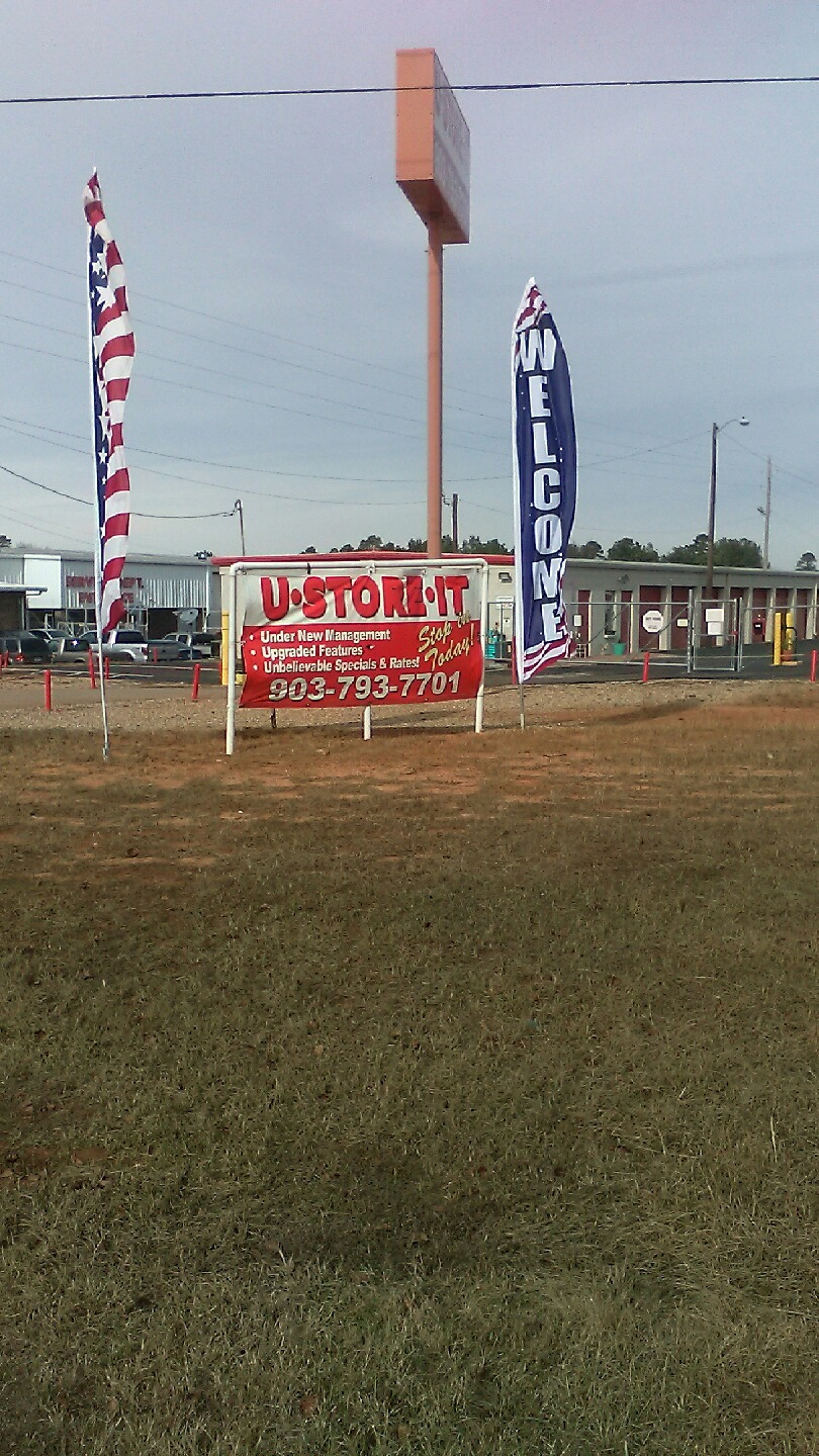 U Store It Texarkana Sign