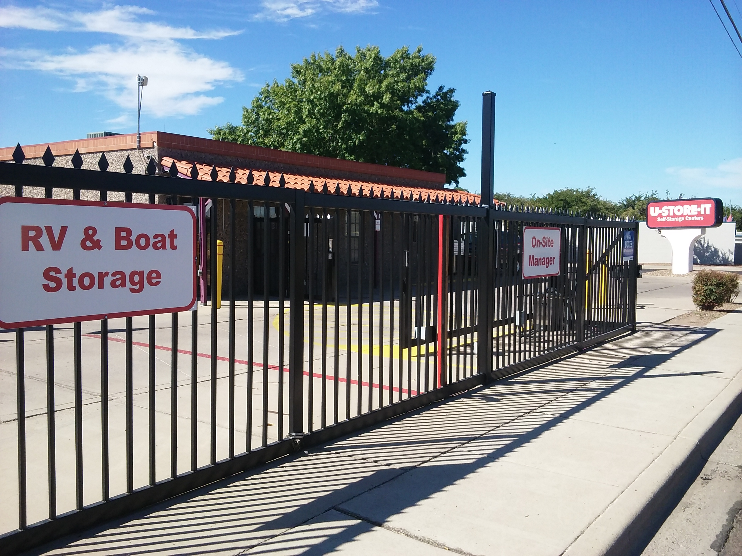 Fenced & Gated Storage in Las Cruces, NM