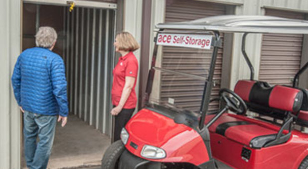ace Self-Storage staff is always available to help you with your self storage needs