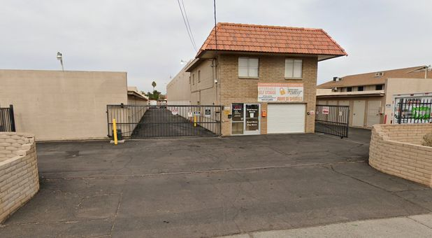 Affordable Self Storage Entrance off Greenway Rd