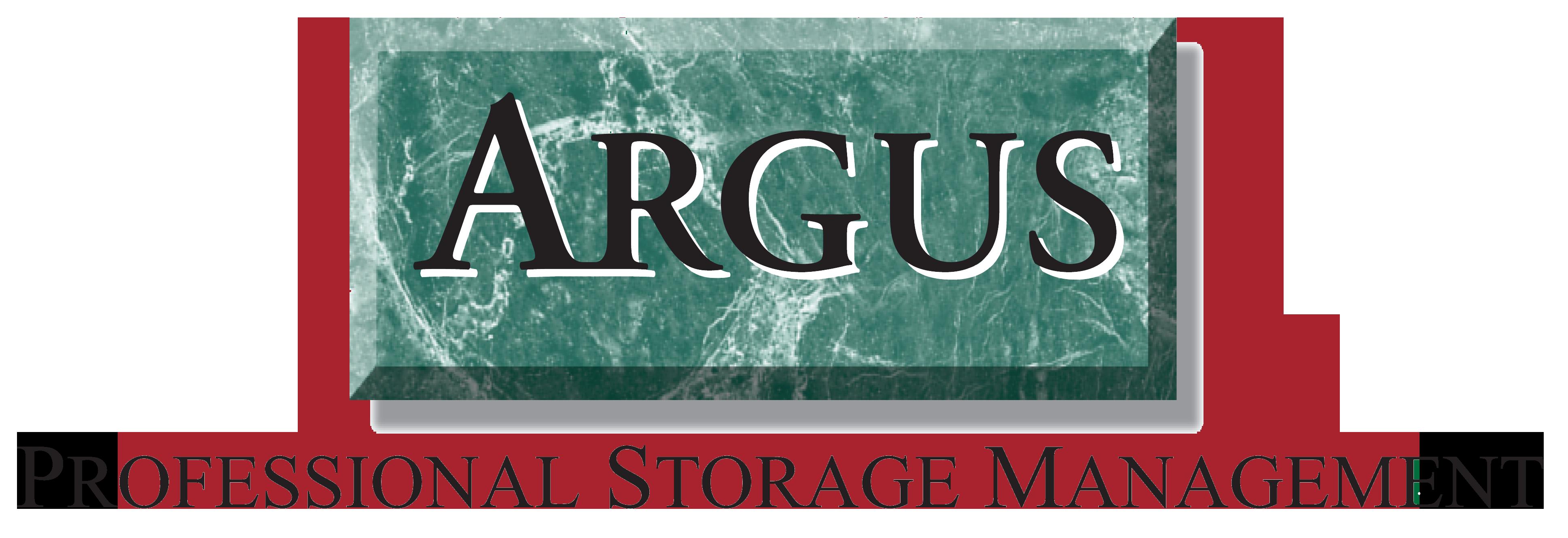 Argus Professional Storage Management Locations Argus