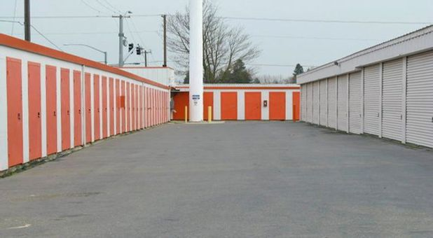 Outdoor, Drive-up Storage Units
