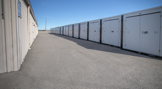 Outdoor Self Storage Units at Bennett Mini Storage