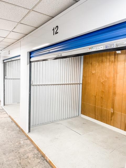 large interior storage unit