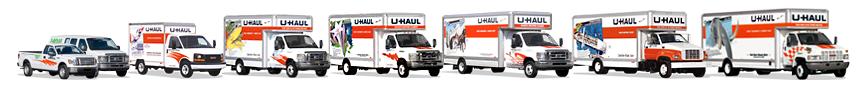 U Haul Truck rentals