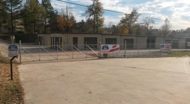 Self Storage with Gated Access in Security Features in Gainesville, GA