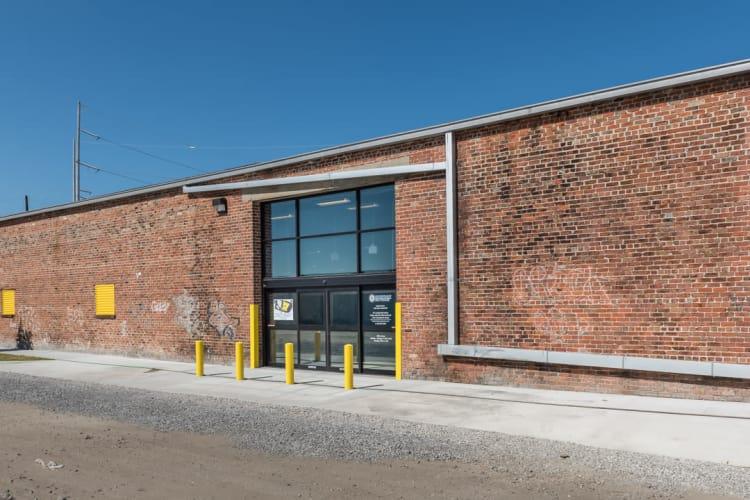 riverfront self storage entrance