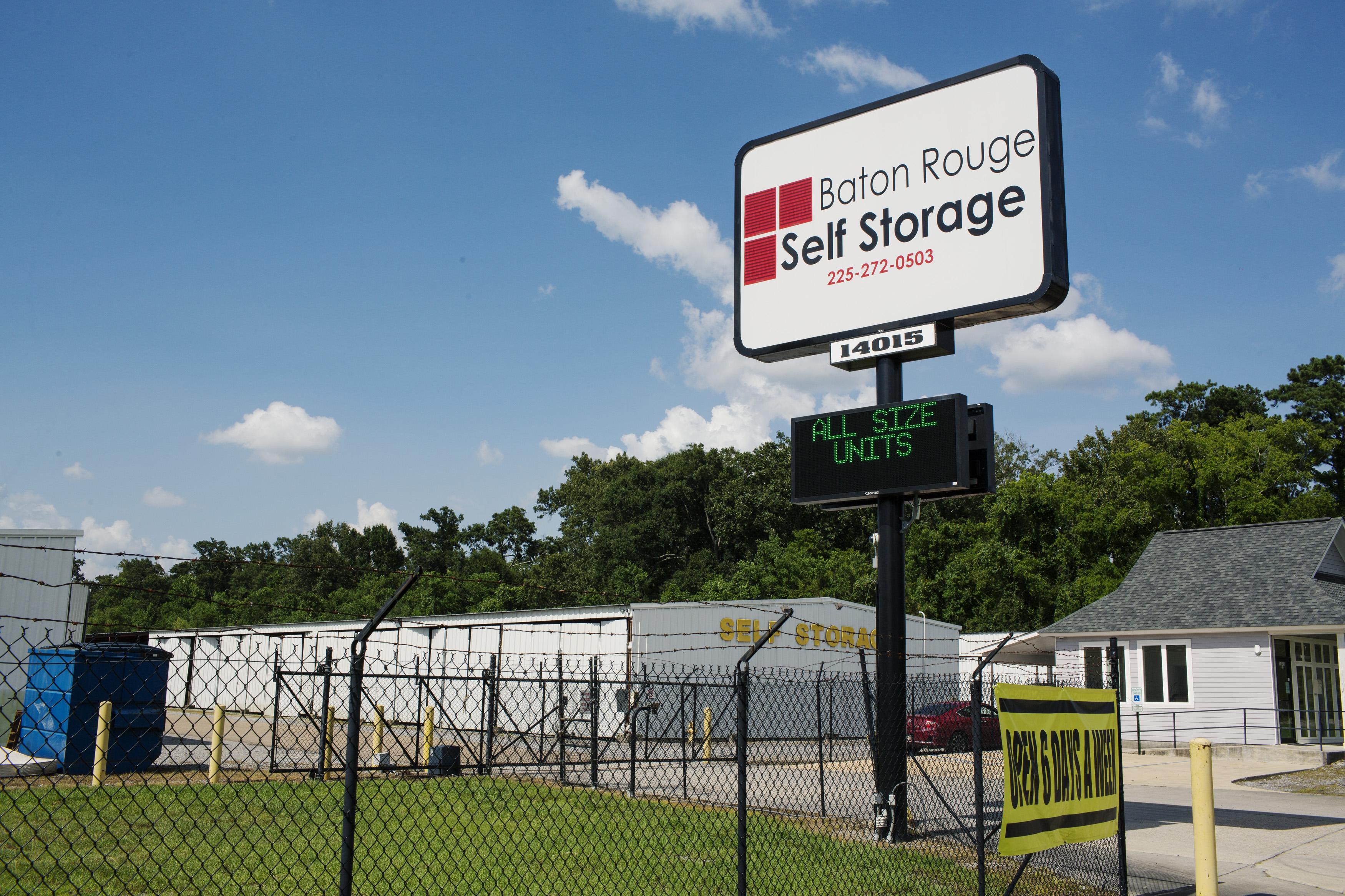 Storage units in Baton Rouge, LA