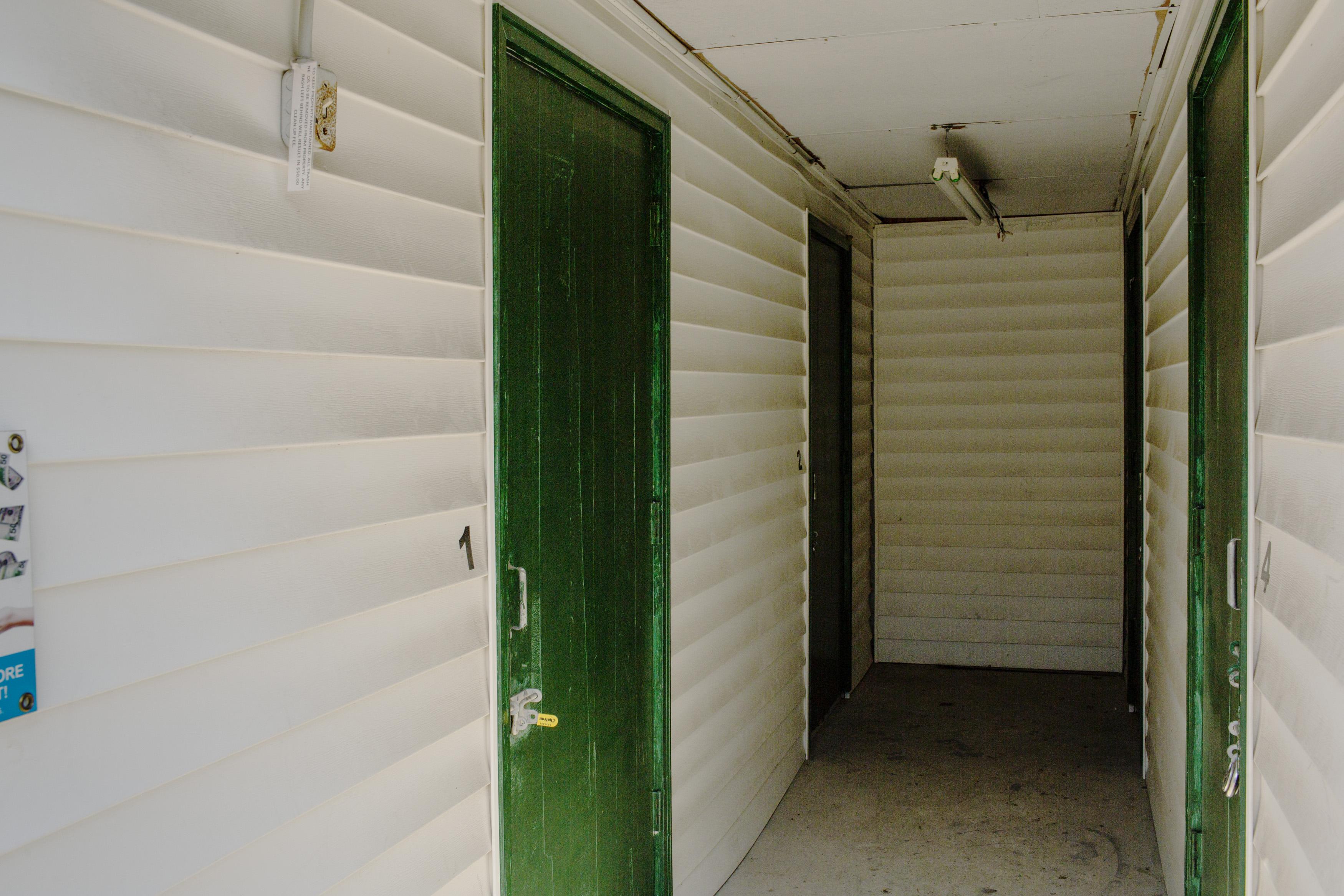 Inside access self storage in Baton Rouge, LA