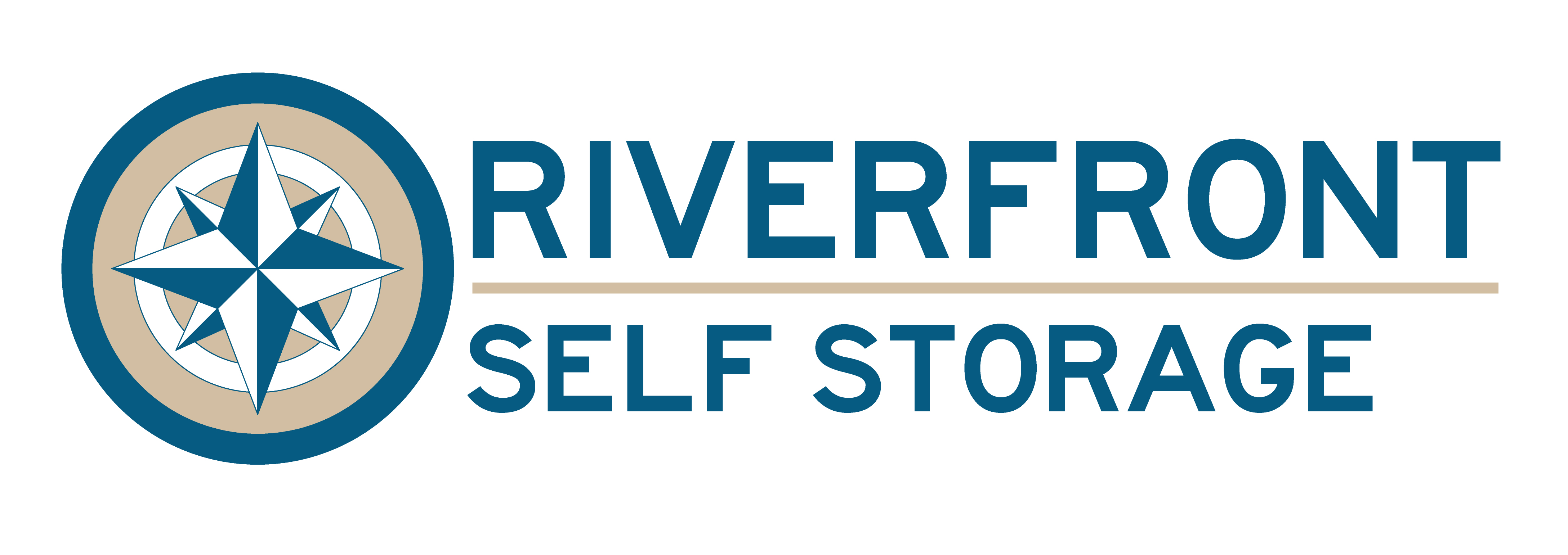 riverfront self storage logo