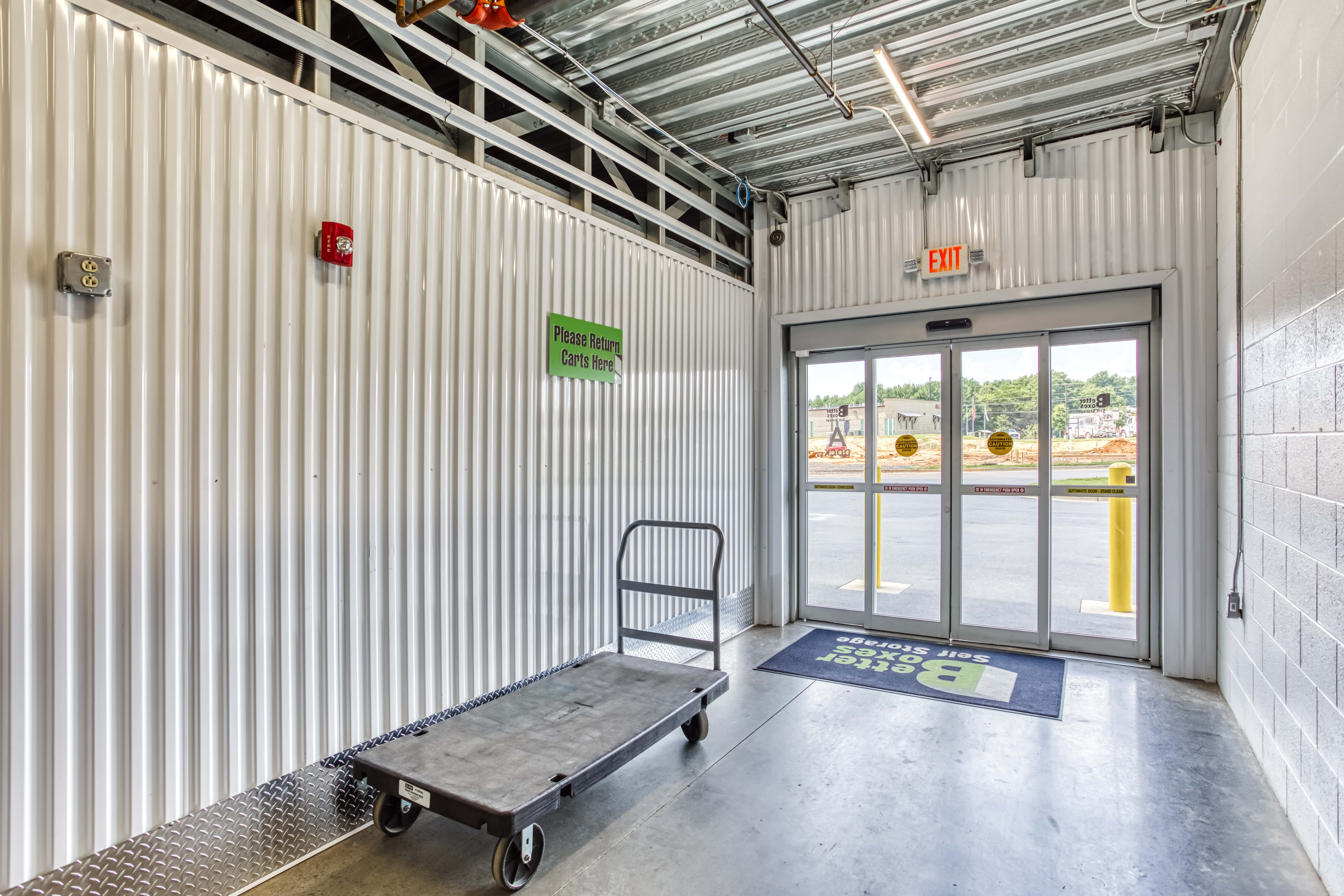 Moving Carts at Better Boxes Self Storage