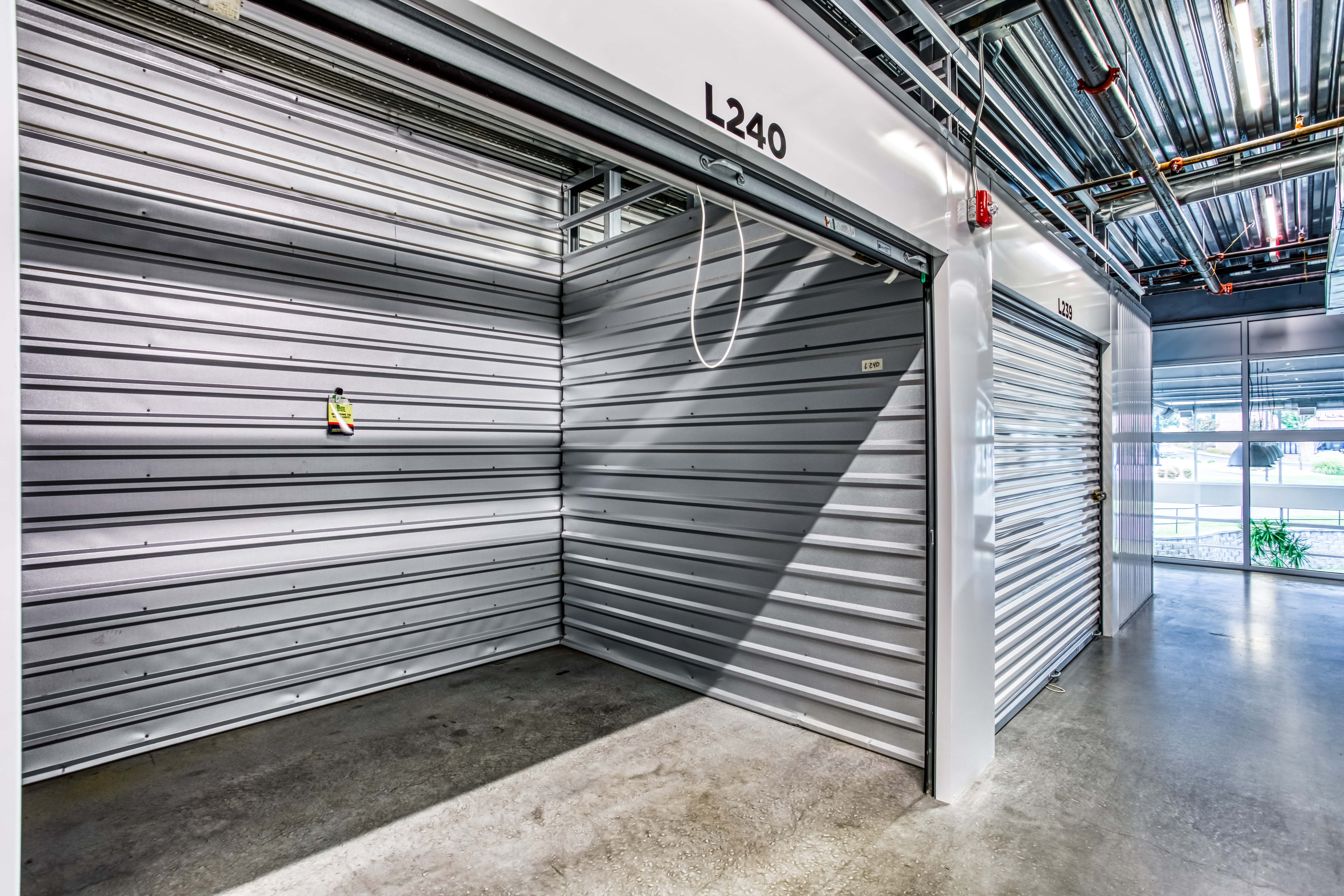 Large Indoor Storage Units in Fort Mill SC