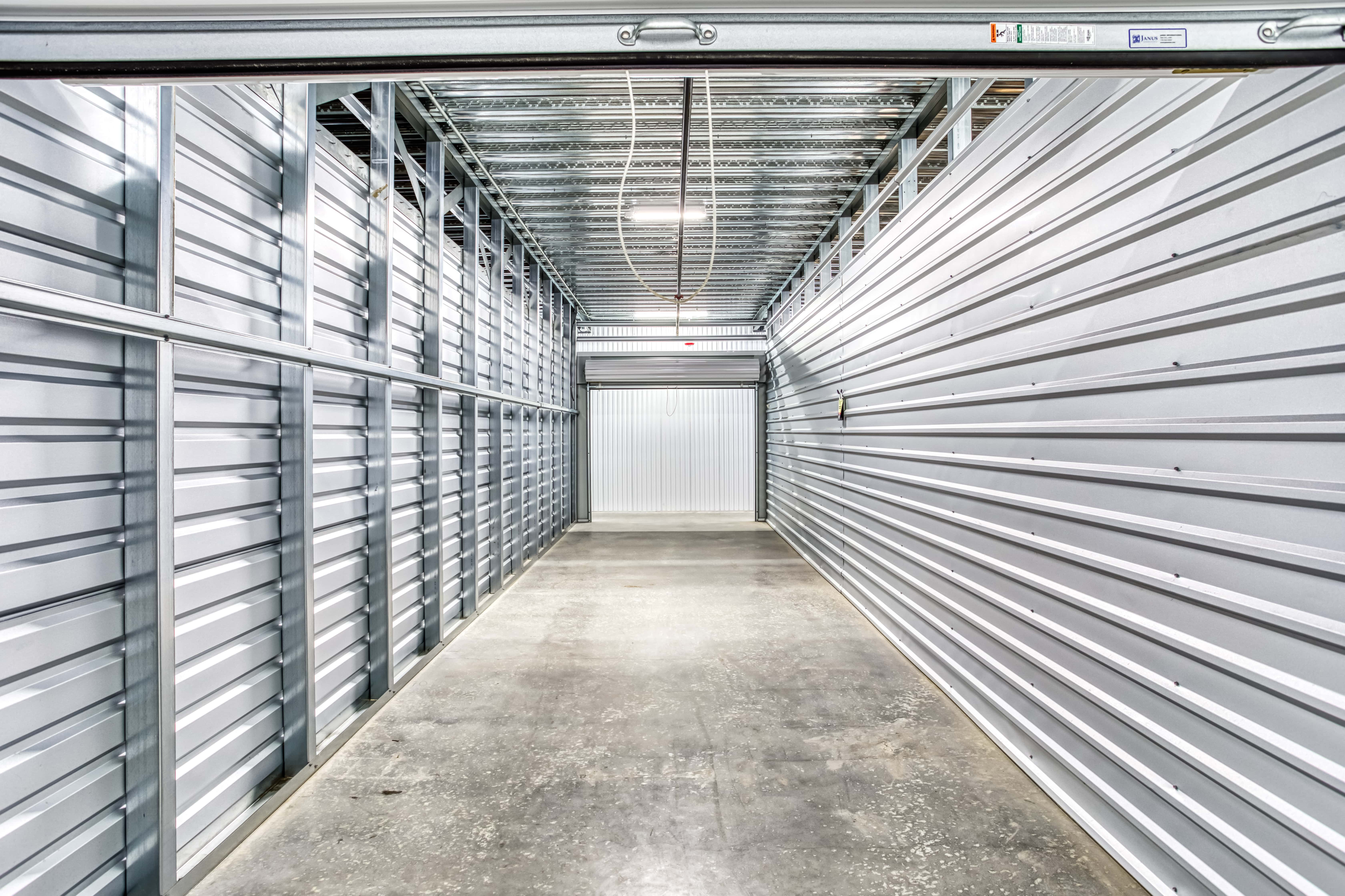 Inside Storage Unit in Fort Mill SC