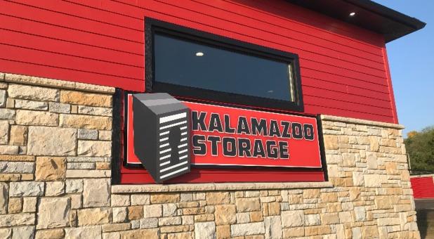 Kalamazoo Storage Office Signage
