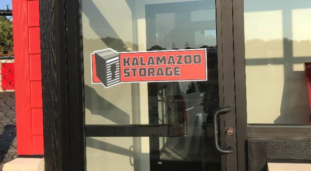 Kalamazoo Storage Office Door