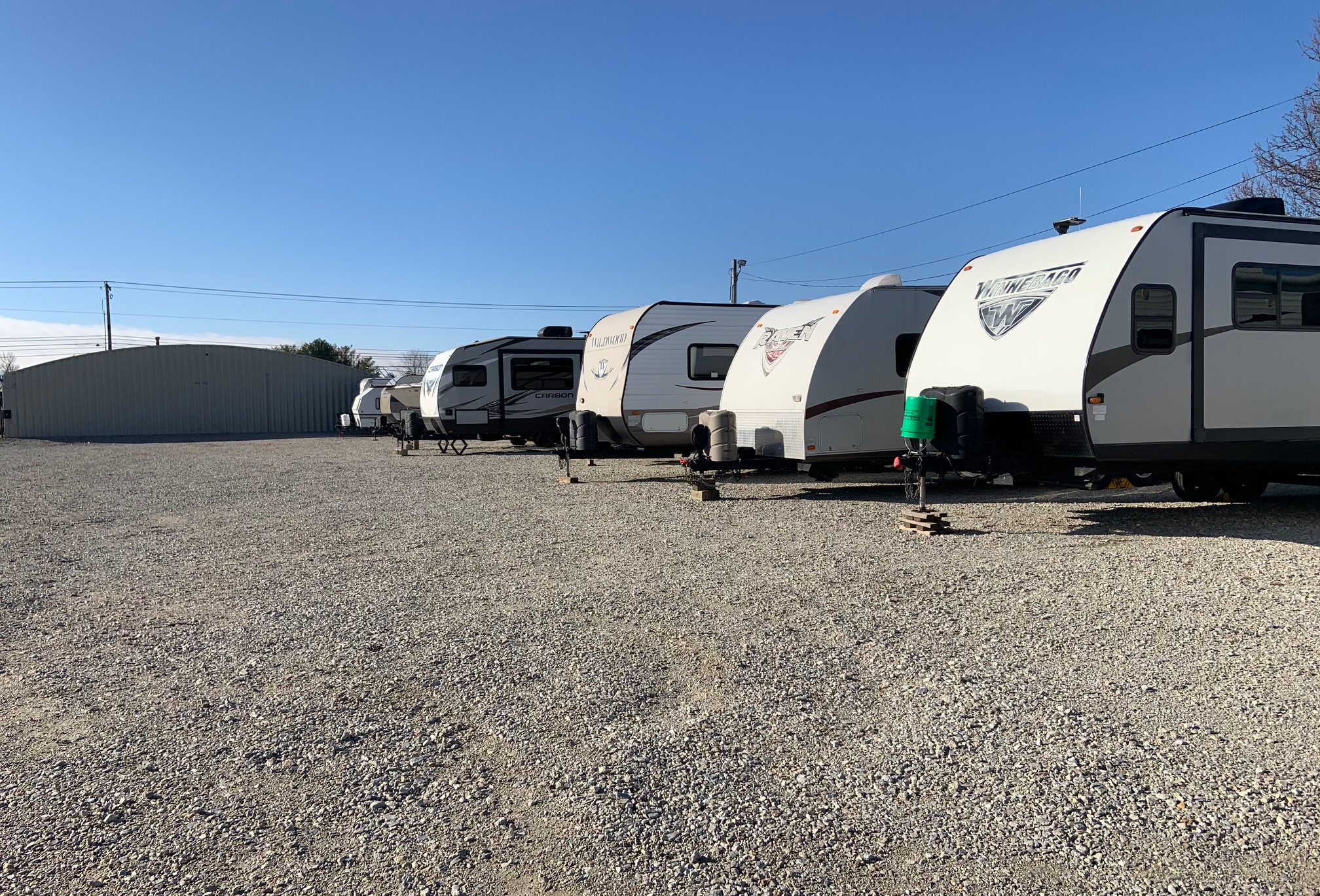 RV Parking in Lafayette, IN