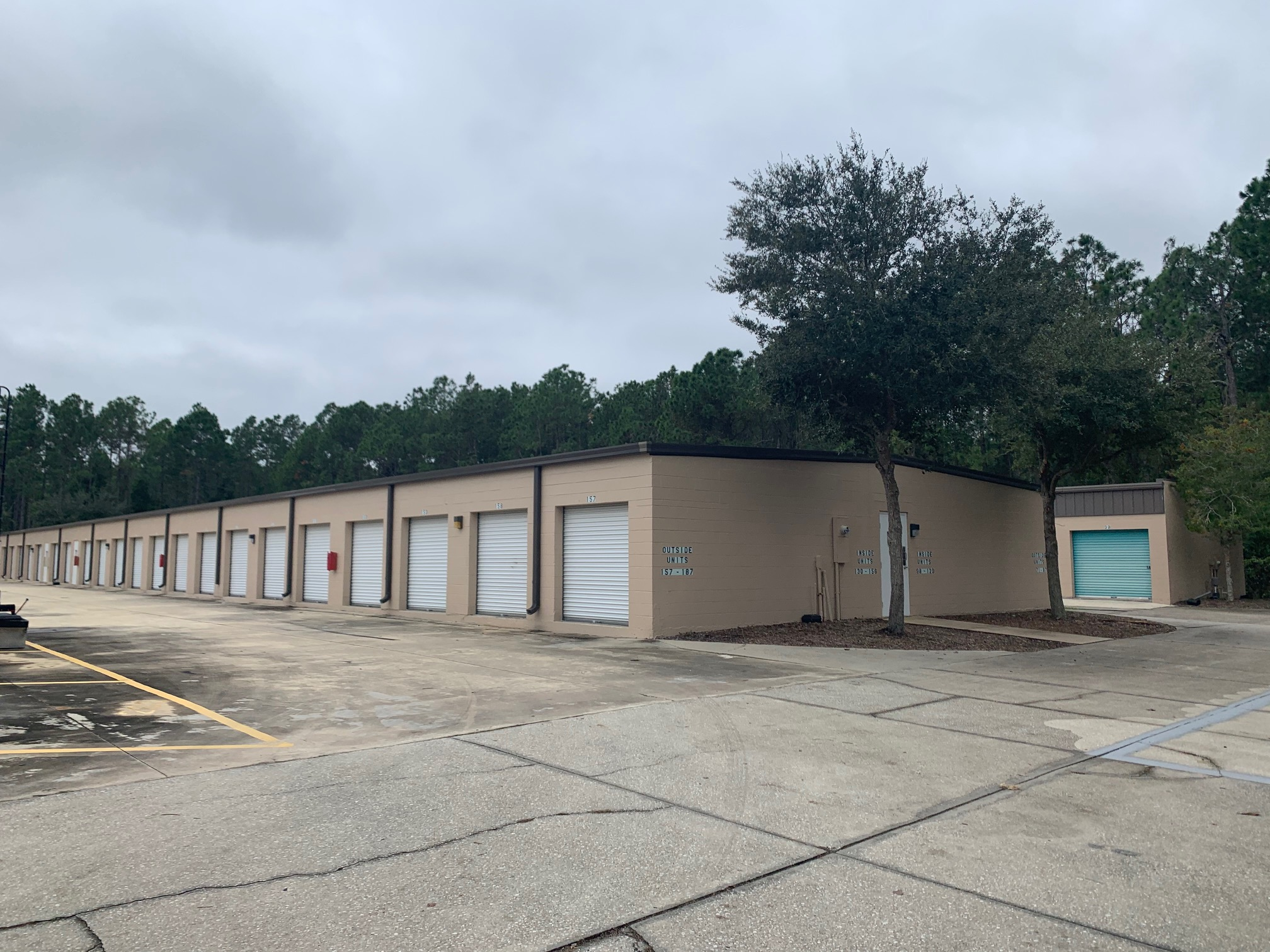 Drive up self storage units in Bunnell, FL