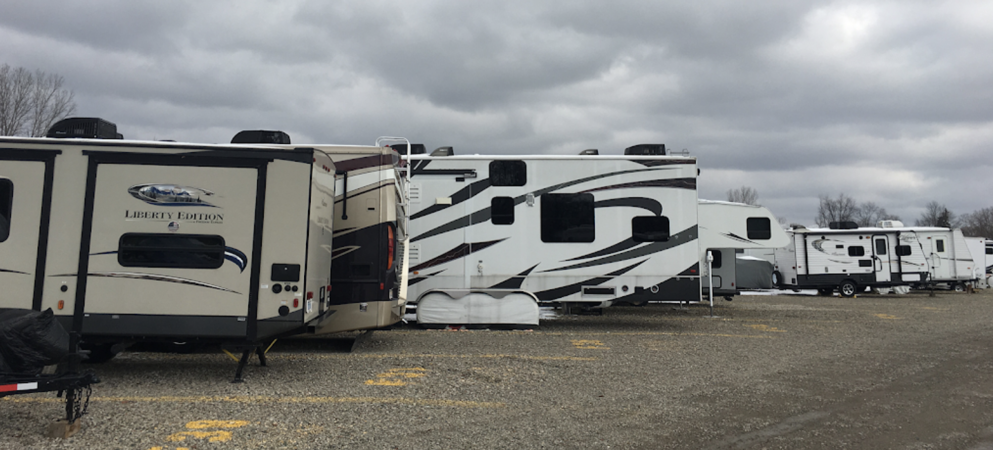 Uncovered RV Parking