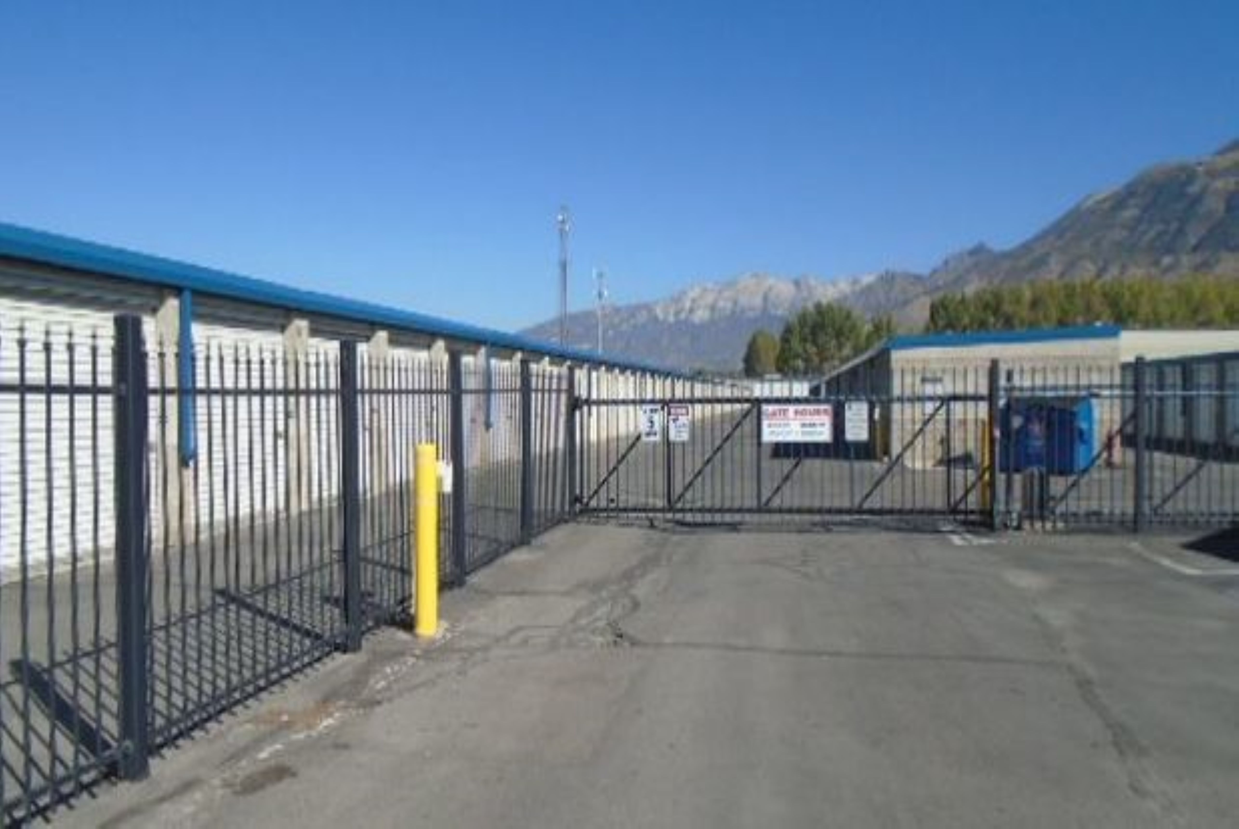 Gated Self Storage Facility Pleasant Grove, UT