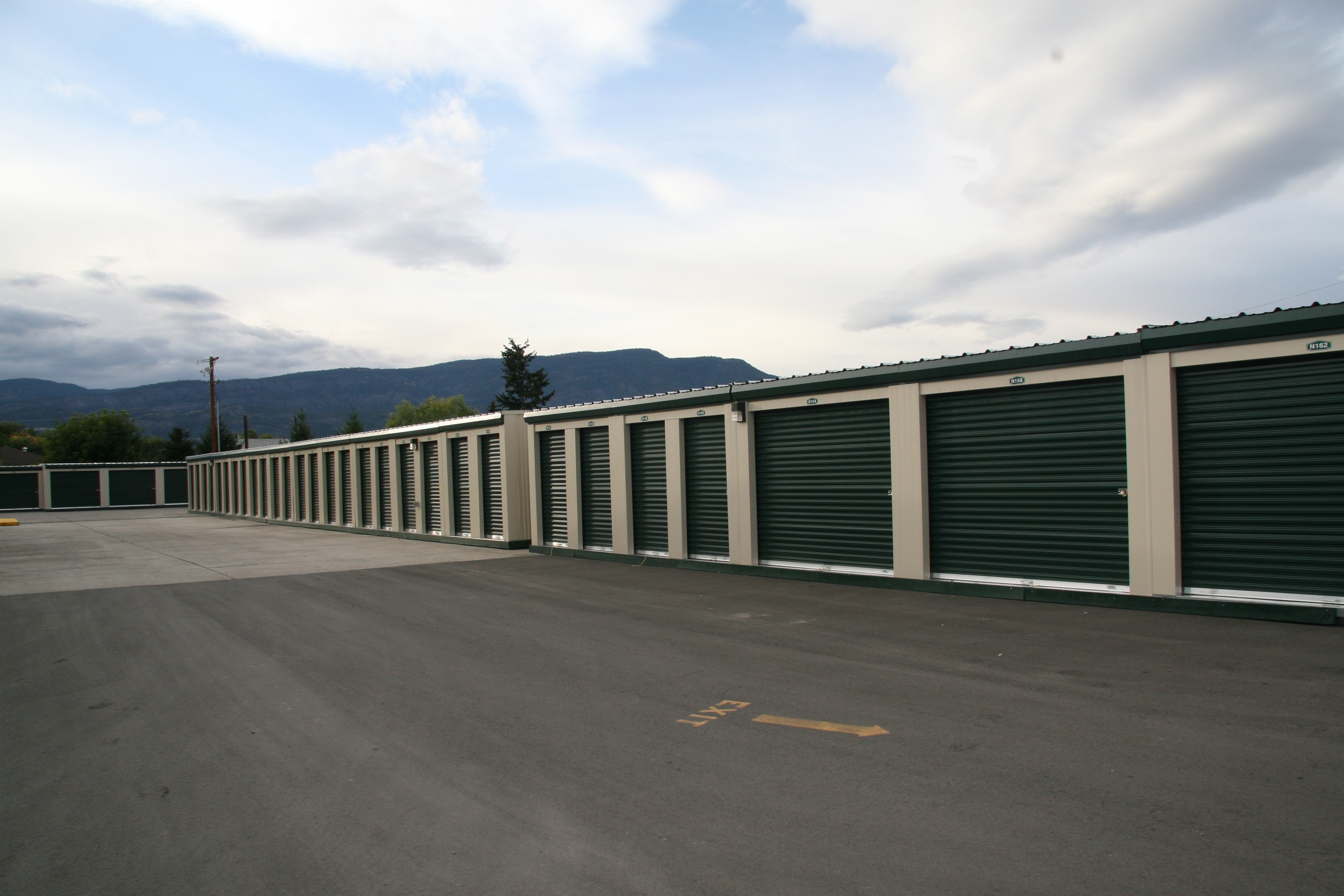 Outdoor Storage Units in Kelowna, BC