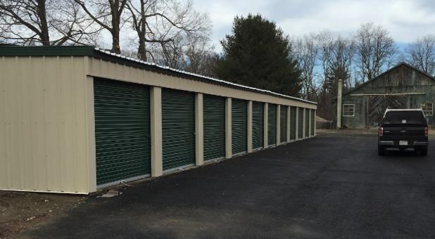 Benson's Self Storage Drive Up Access