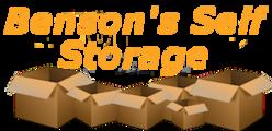 Benson's Self Storage