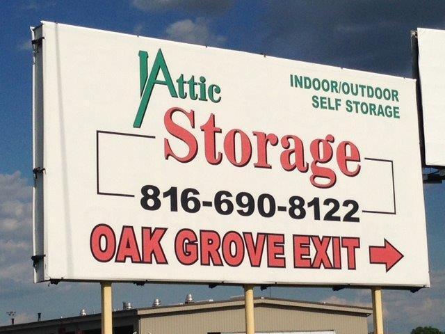 attic storage of oak grove, mo