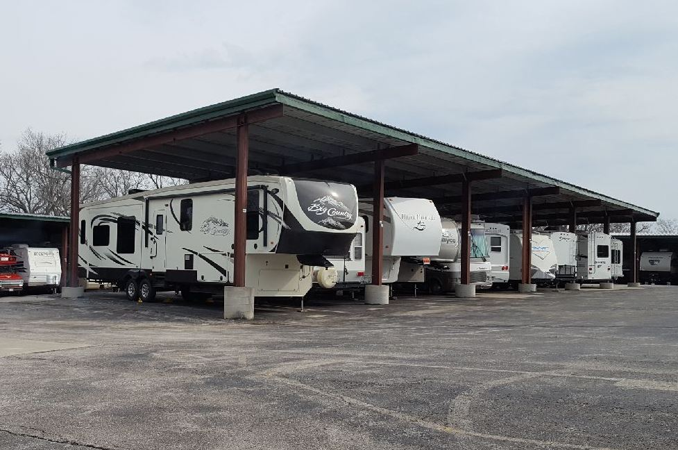 rv and boat parking, ks