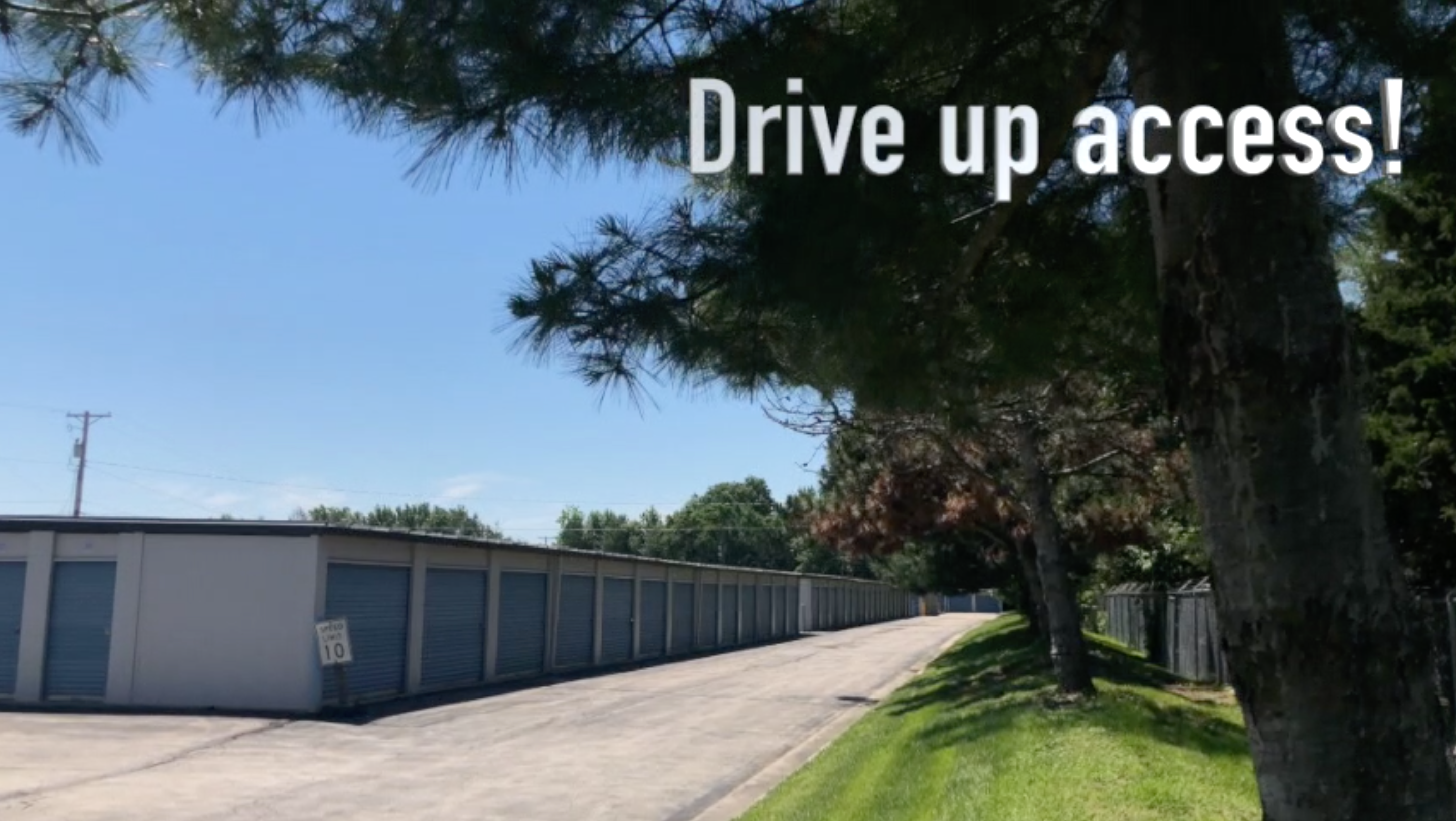 drive up access in Lee's Summit, MO