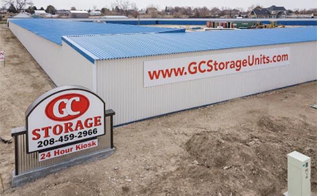 GC Storage facility signage