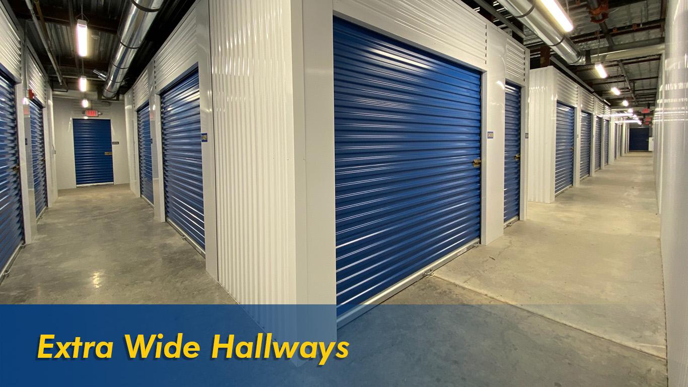 Extra Wide Hallways
