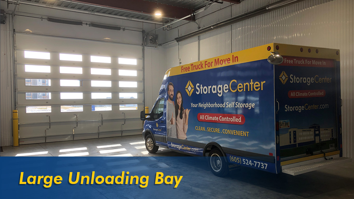 Large Unloading Bay