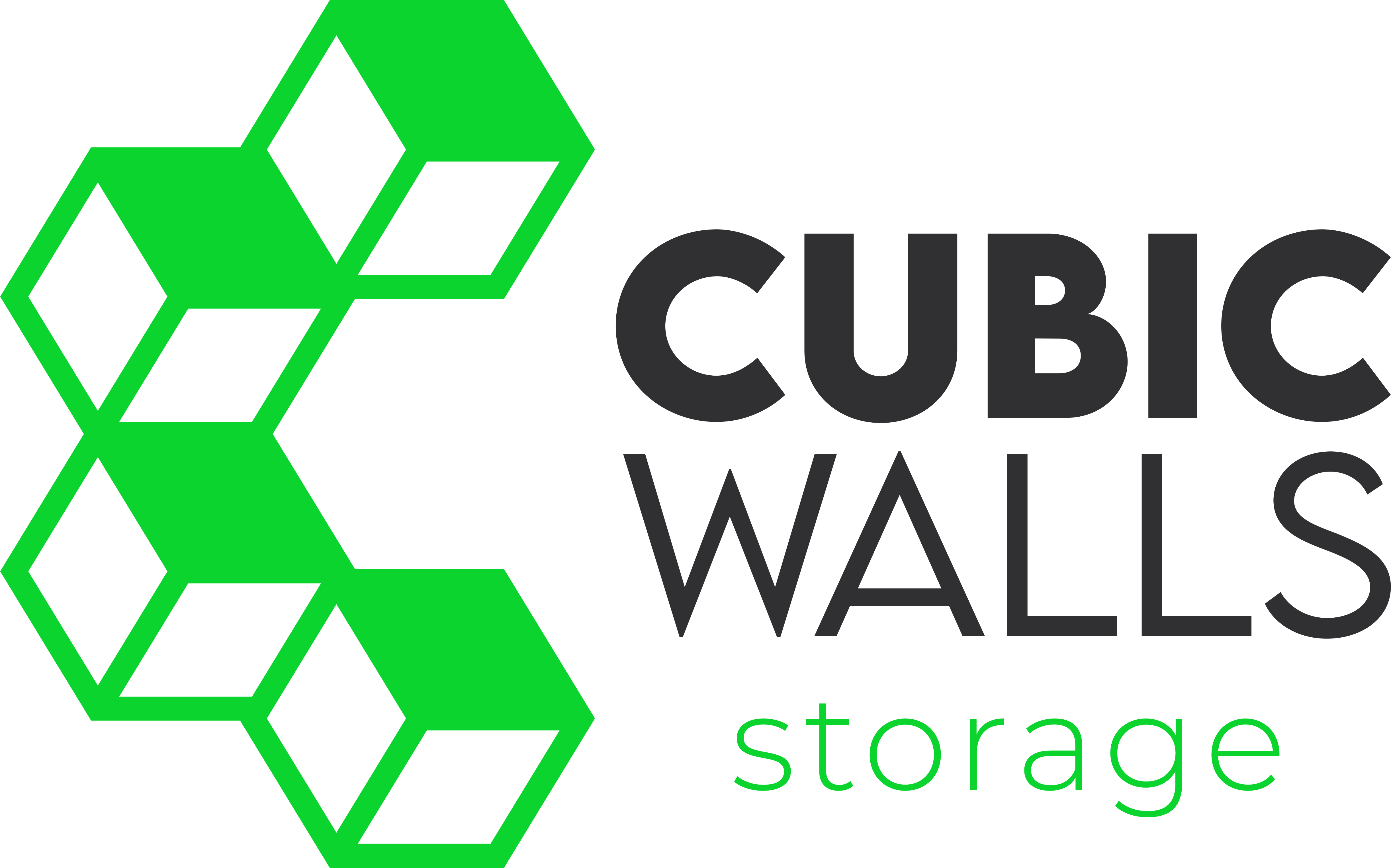 cubic walls storage