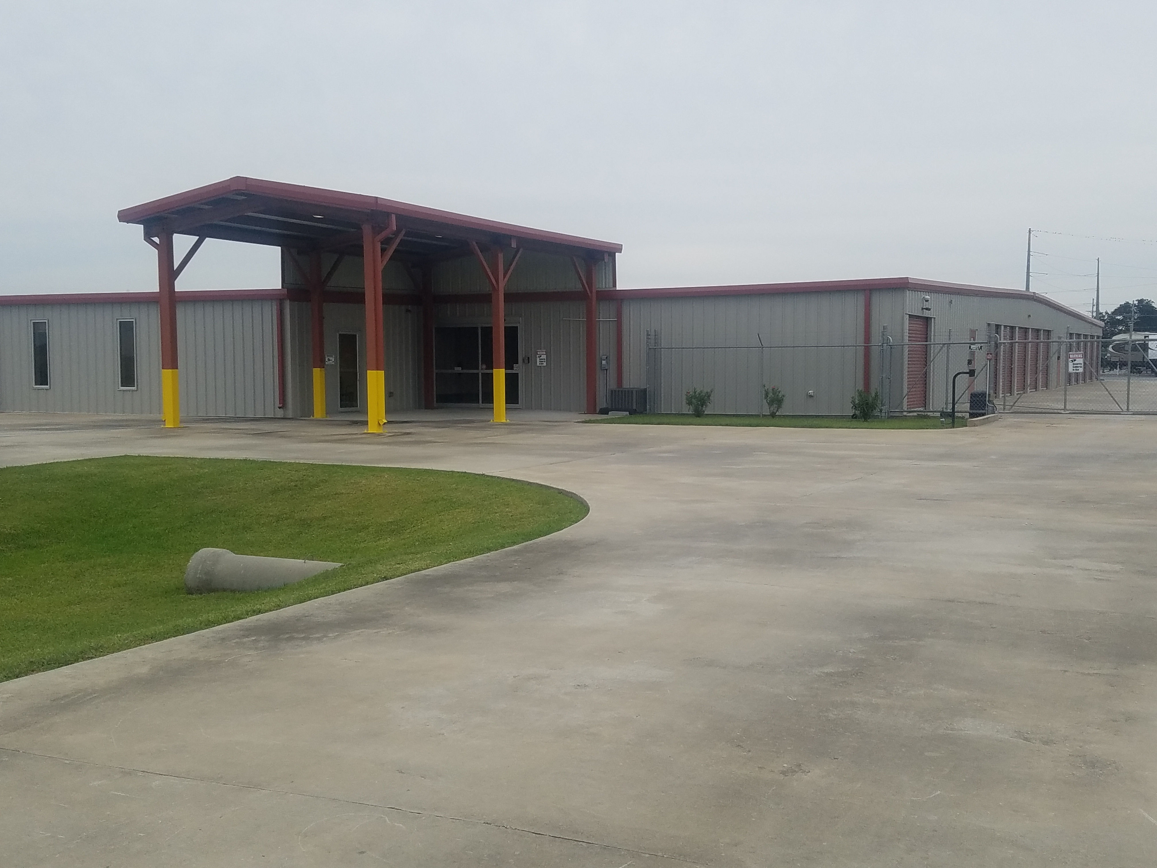 fenced and gated storage facility youngsville