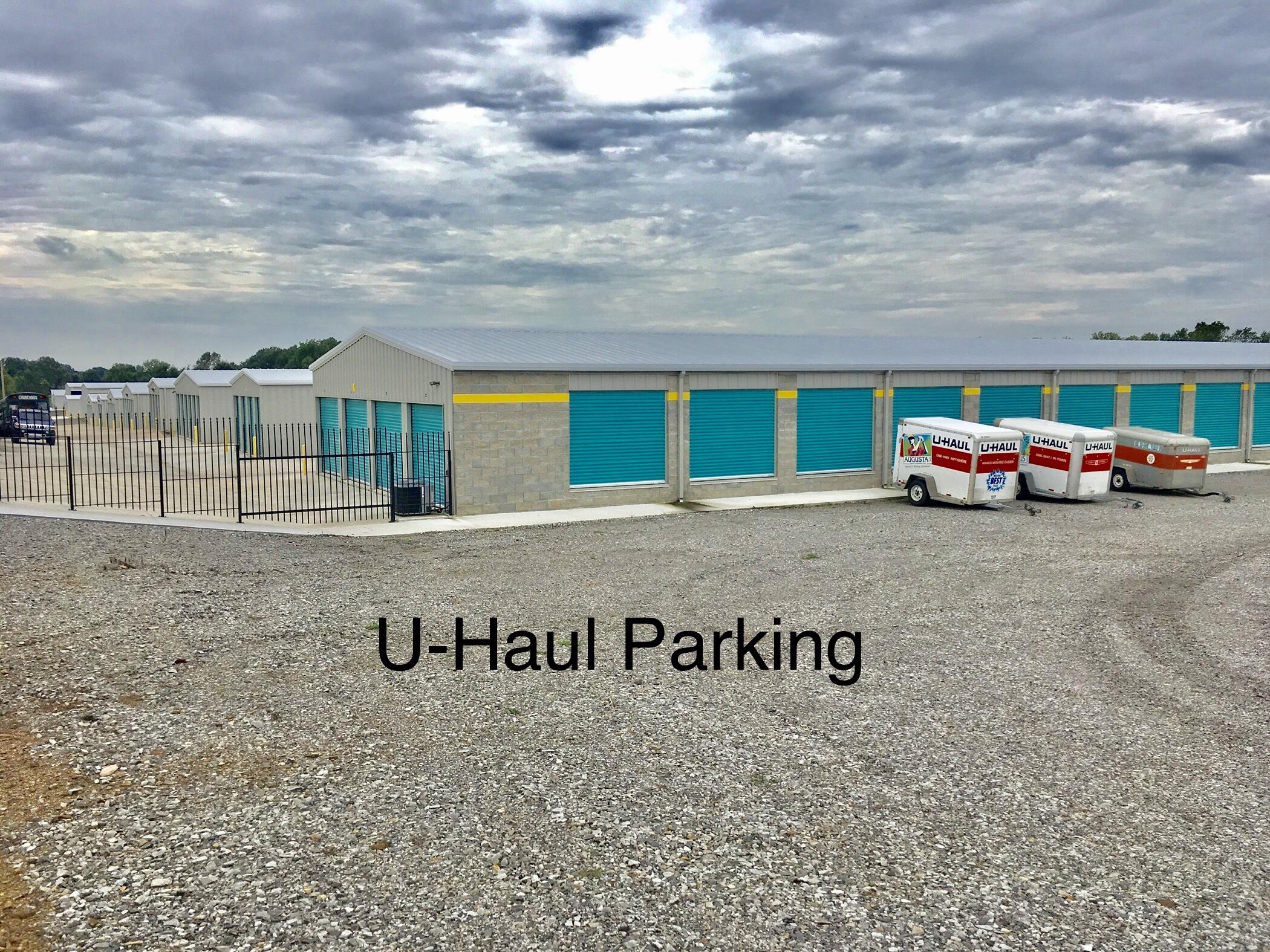 U-haul parking