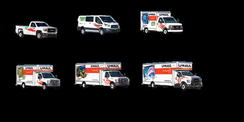 U-Haul Trucks to rent