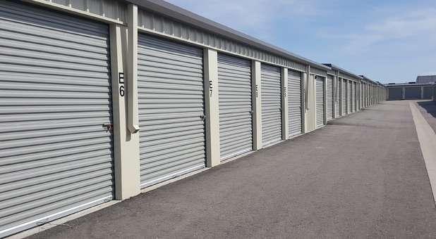 Large drive up storage units